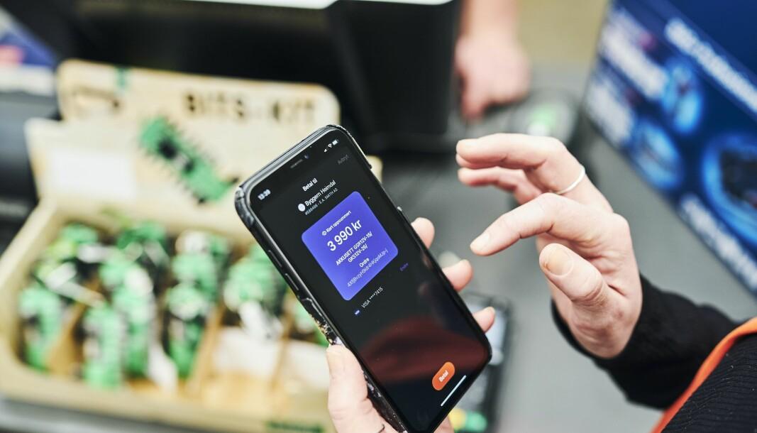 Vipps' nye løsning for mobilbetaling i kassa i butikker bygger på BankAxept som nesten alle butikker i Norge har tilgang til.
