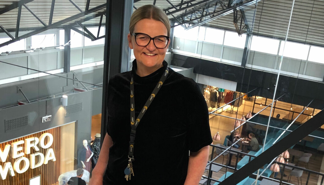 Senterleder Lene Faraasen: – Gjennom byggeprosjektet får vi utnyttet arealer i tre etasjer.