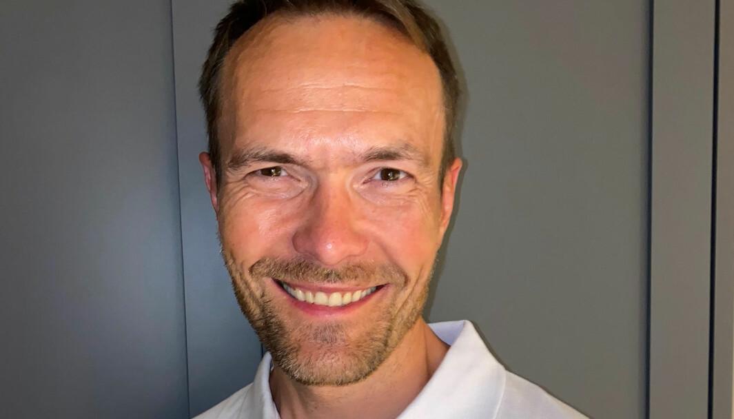 Martin Kjekshus går fra Ringnes til Diplom-Is.