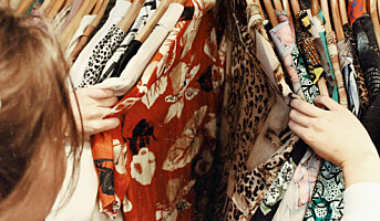 Få klær kjøpes brukt i Norge