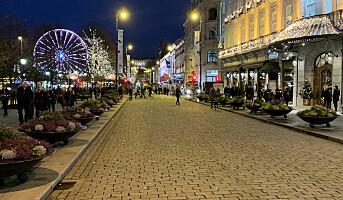 Sentrumshandelen i Oslo taper