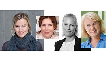 Boostcom med fire nye ledere – alle kvinner