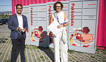 Posten setter ut pakkebokser tusen steder – samarbeider med OBOS