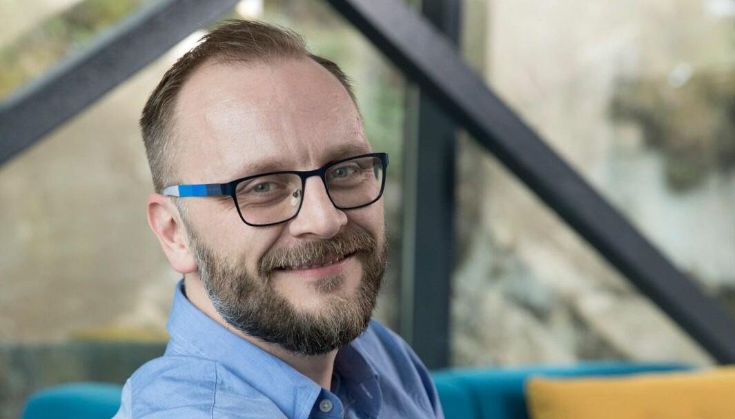 Steffen Larvoll fra Driw er nyvalgt styremedlem i Logma.