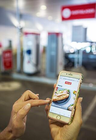 Circle K satser på mobilhandel på stasjonene sine.