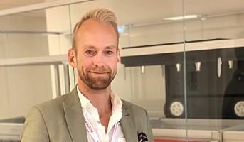 Christian Walby ny salgssjef hos Swisslog