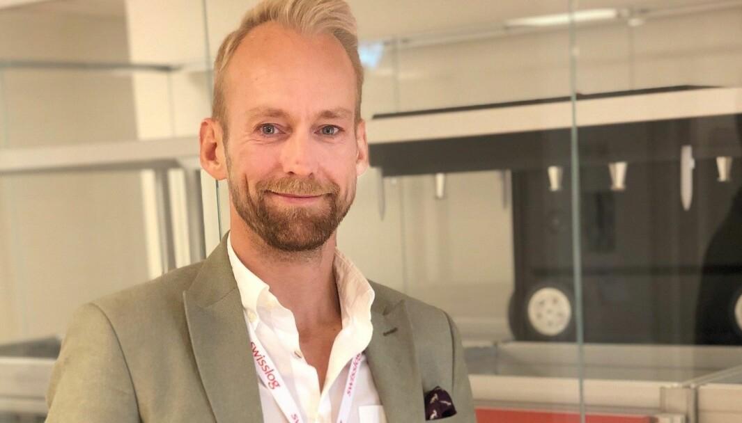 Christian Walby tiltrådte i mai som salgssjef i Swisslog Norge.