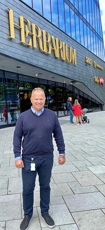 Senterleder Sigve Mydland har vært med på totalforvandlingen helt siden 1990.