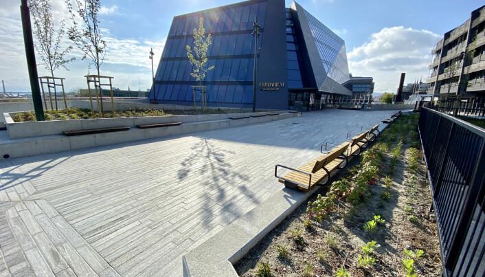 Parkanlegget på taket er tilgjengelig for Stavangers befolkning