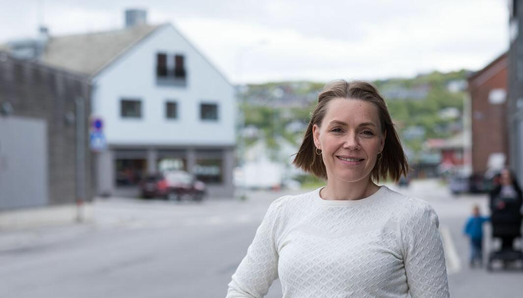 Senterleder for Amfi Kirkenes, Kristine Balsvik Ramberg: – Når grensa åpner igjen, vet vi ikke.