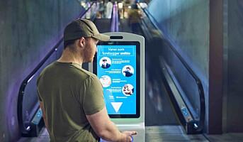 Procon Digital med digitale smittevernskiosker
