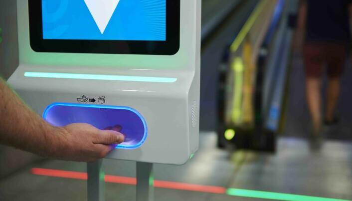 Kombinasjon av digital informasjon og smittevern er unik.