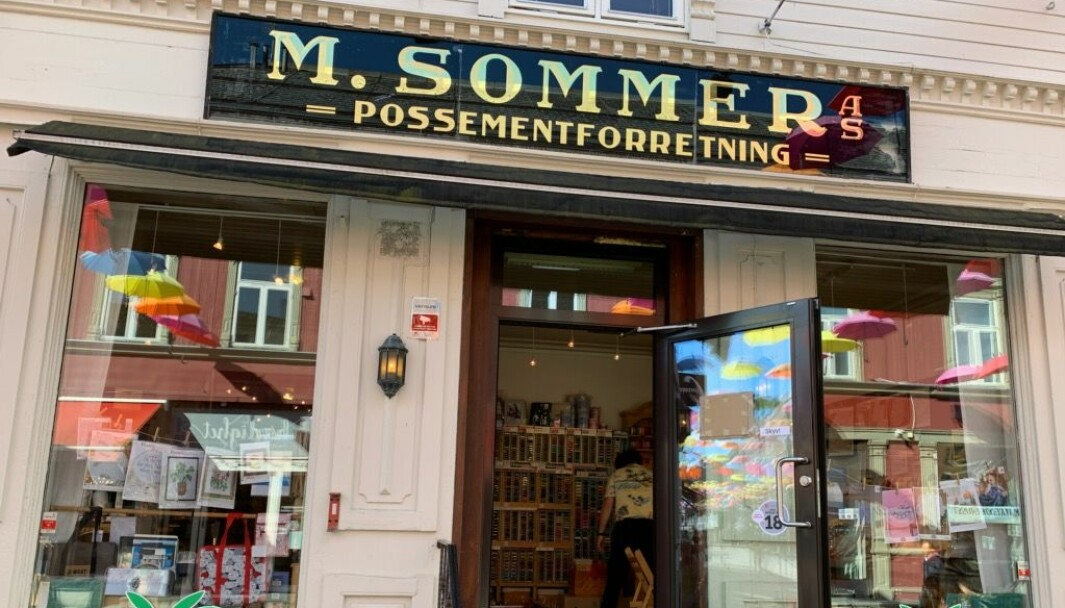 Possementsbutikken i Trondheim er en av Norges eldste faghandelsbutikker i løpende drift.