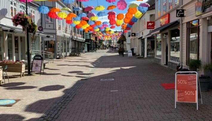 Thomas Angells gate er en av Trondheims beste handlegater.