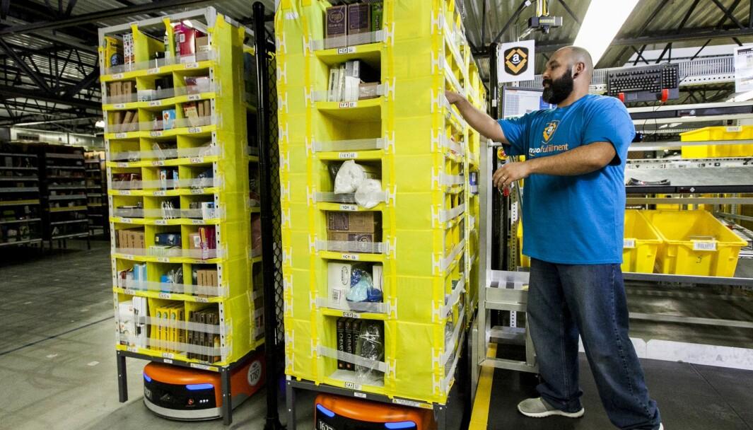 Amazon etablerer seg i Sverige i høst. Når kommer de til Norge?