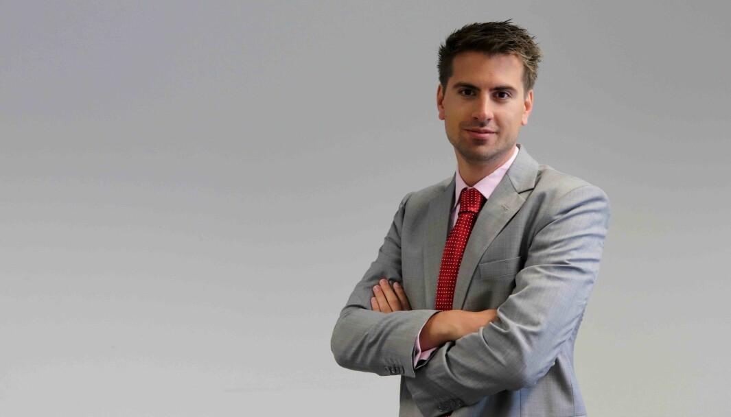 Hans Kristian Furuseth daglig leder i nettapoteket Farmasiet.