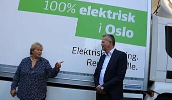 Første serieproduserte el-lastebil til DB Schenker