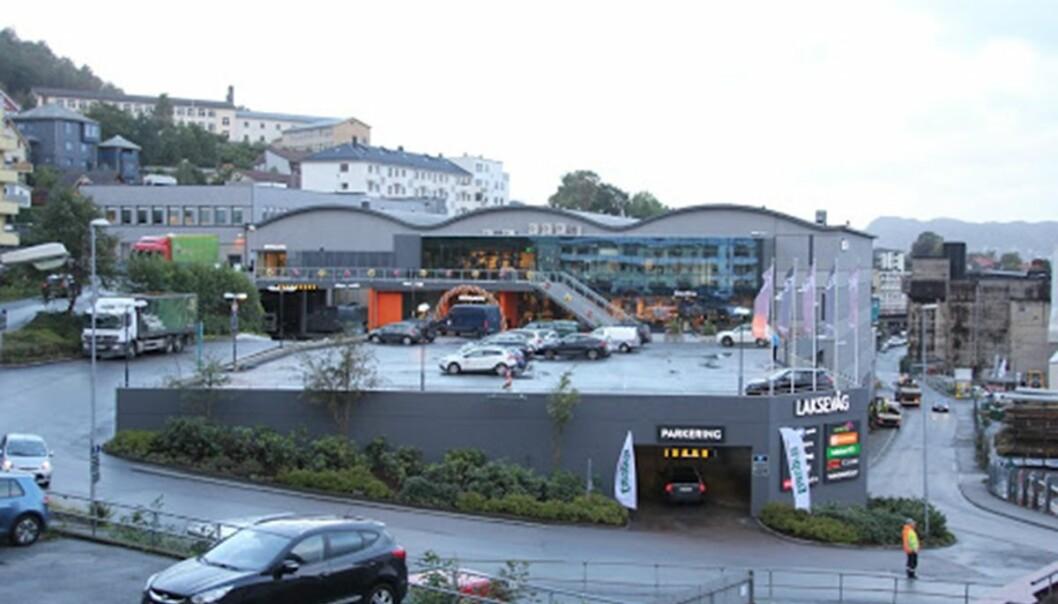 Scala Eiendom har hatt en sterk sommer, her representert ved Laksevåg Senter.