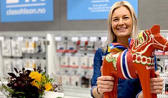 Norge trakk opp for Clas Ohlson i juli, åpnet ny butikk i Trondheim i går