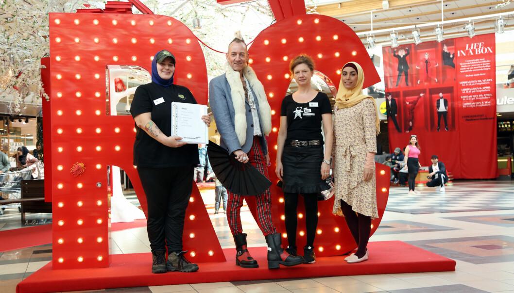 """Rødovre Centrum lånte ut """"menneskelige bøker"""" som et bidrag i et oppgjør mot fordommer og vant en ICSC-pris for kampanjen."""