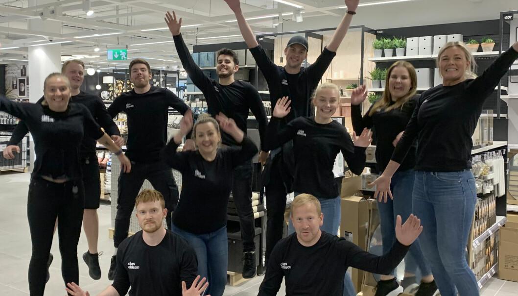 Begreistring da Clas Ohlson åpnet på Sirkus Shopping. Også fem andre nye butikker åpner på senteret i Trondheim øst.