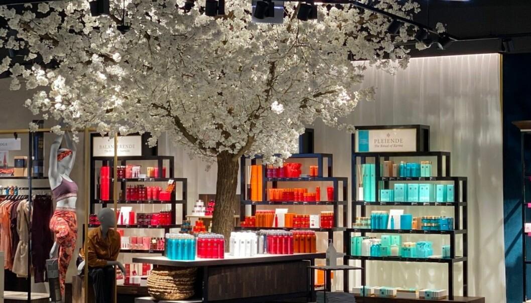 Senterlederen mener at Rituals' nye butikk på Sirkus Shopping er Trondheims vakreste.