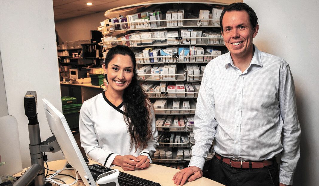 Planleggingssystemet innebærer fordeler både for kjedeledelsen, ledelsen ute i butikkene og de ansatte i Boots Norge. Det slutter Orjahan Said, provisor farmasøyt på apoteket på Skøyen i Oslo, og prosjektleder Morten Herman Vogt seg til.