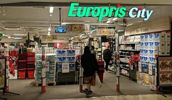 Europris åpner sin andre City-butikk, den første på gateplan