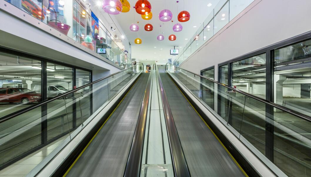 Tangen Senter oppfordrer sine kunder til å spre seg mer over åpningstiden.