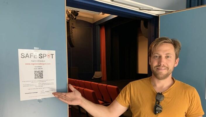 Også besøkssteder på Levanger har fått SafeSpot.