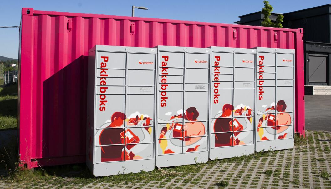 Henting i pakkebokser er en av flere utleveringsmuligheter Posten tilbyr flere av.