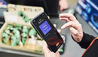 Mobilbetaling i butikk på plass i 90% av terminalene i løpet av kvartalet