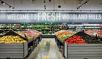 Første Amazon Fresh-supermarked åpnet – kundene kan gå rett forbi kassa