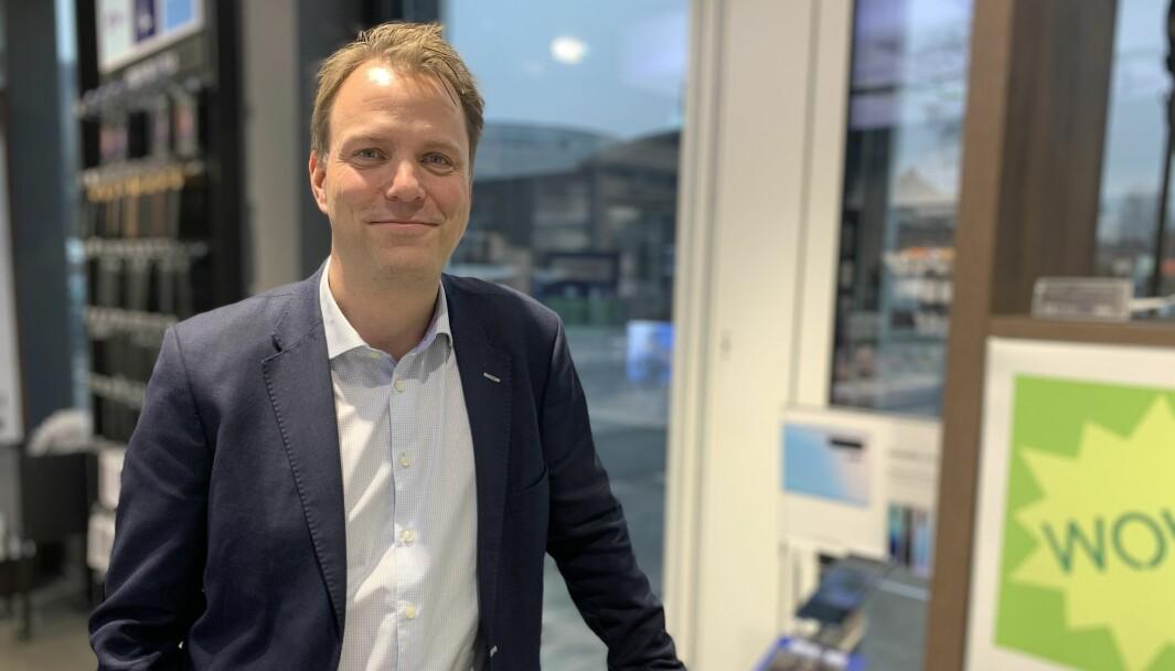 Elkjøp Norge har siden lansering i fjor, rekruttert en million kundeklubbmedlemmer, sier merkevaresjef Marius Klemo i Elkjøp Norge.