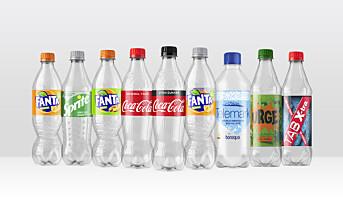 Coca-Cola tar grep: Alle norske flasker skal lages av 100 % resirkulert plast