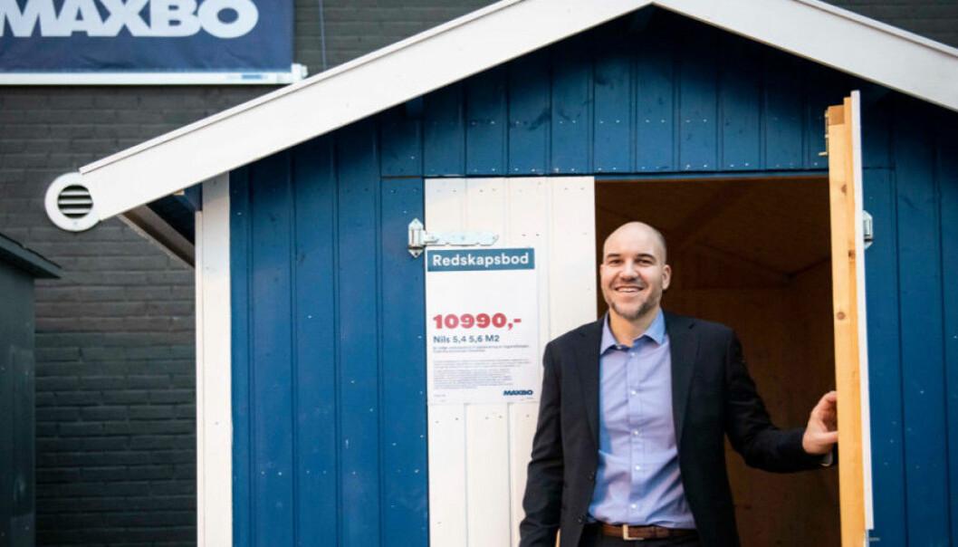 Kjetil Enger er Direktør Netthandel hos Maxbo.
