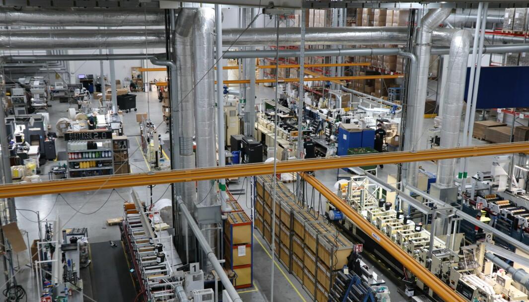 Lexits svenske datterselskap har fått ny sjef. Selskapet er lokalisert i Mölnlycke der de har egen produksjon av etiketter.