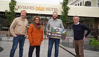 Håndlagde eggprodukter til topps i Norges største lokalmatpris