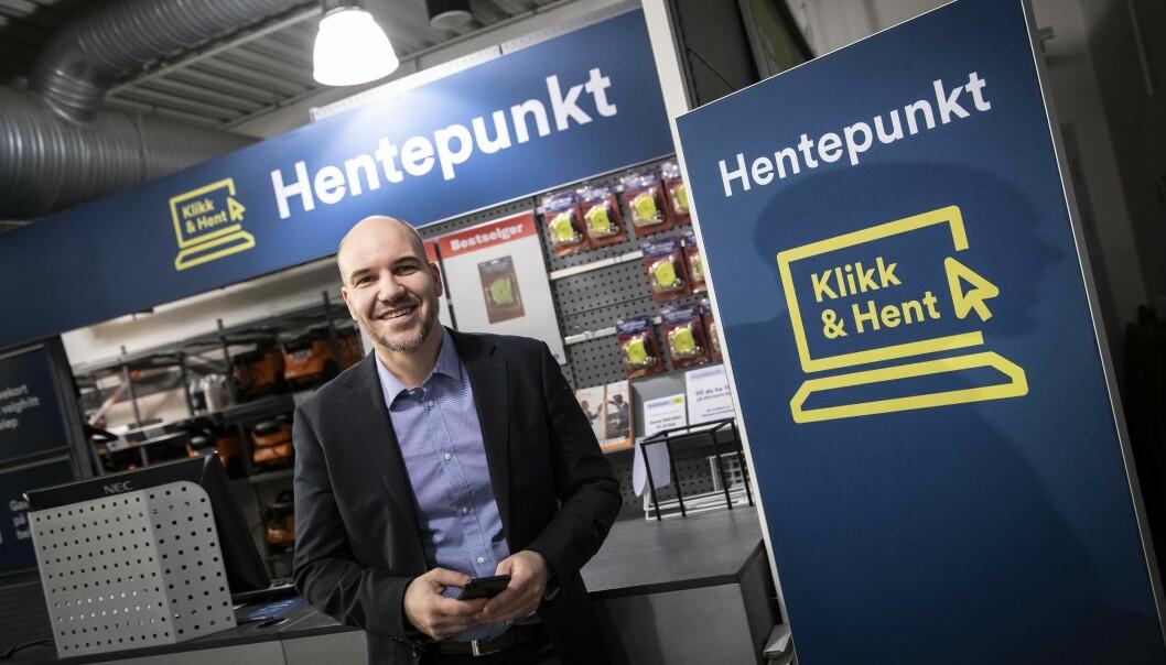 Netthandeldirektør Kjetil Enger i Maxbo opplever en digital modenhet blant forbrukerne, og tror på fortsatt vekst i netthandelen, med et mål om at 15-20 prosent av handelen skal skje digitalt i løpet av ett til to år.