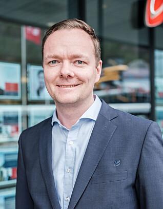 Jan-Tore Smith er banksjef ved Sparebanken Vests kontor i Bergen sentrum.