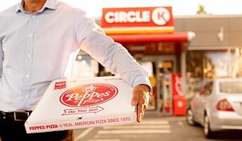 Nå skal Circle K selge Peppes Pizza over hele Norge