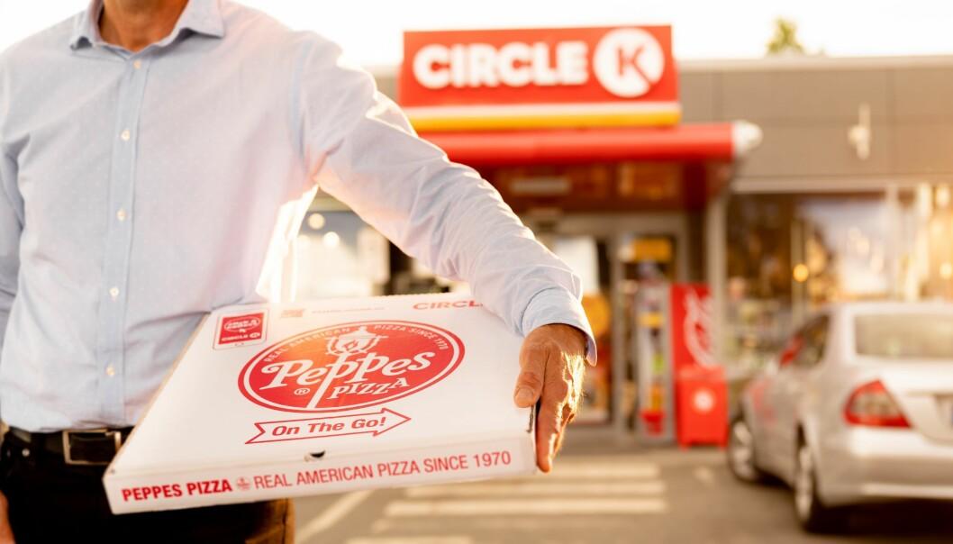 Nå får man Peppes på Circle K.