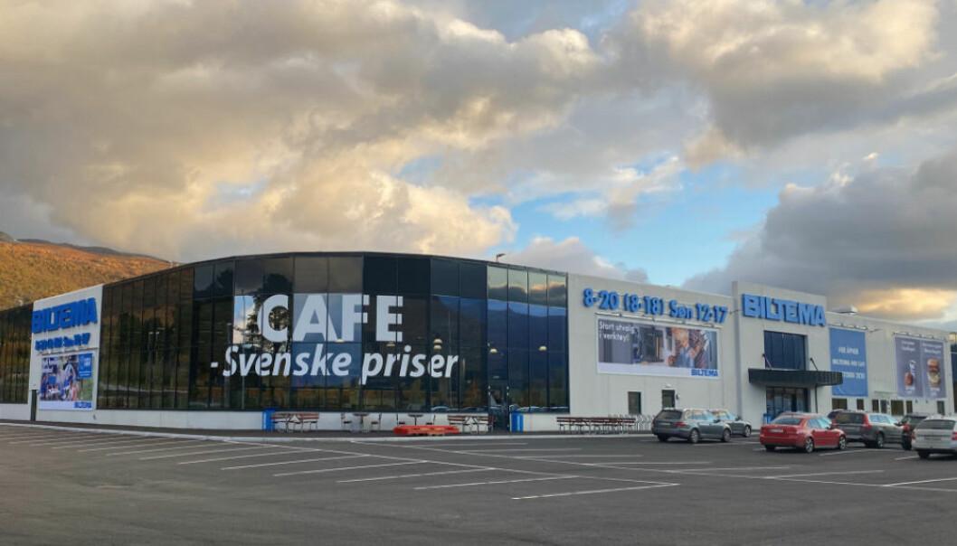 Biltema på Oppdal er varehus nr 67. i Norge, og nr 2 som har søndagsåpent.
