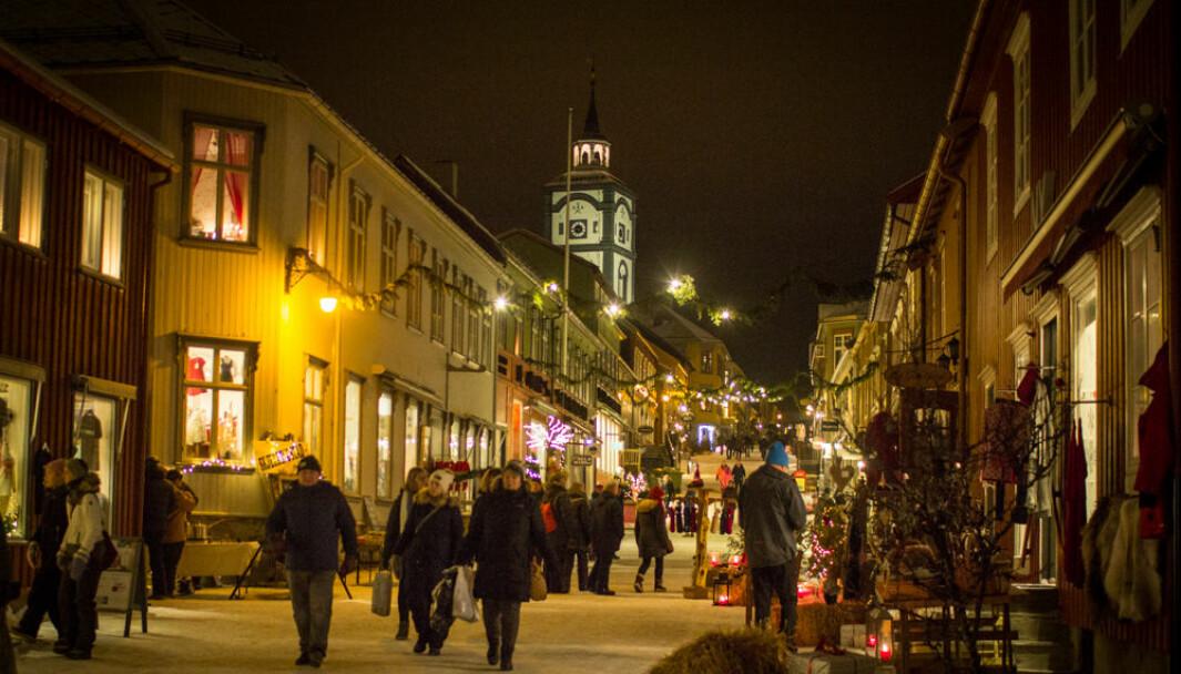 'Jul på Røros' garanterer god julestemning i hele desember.