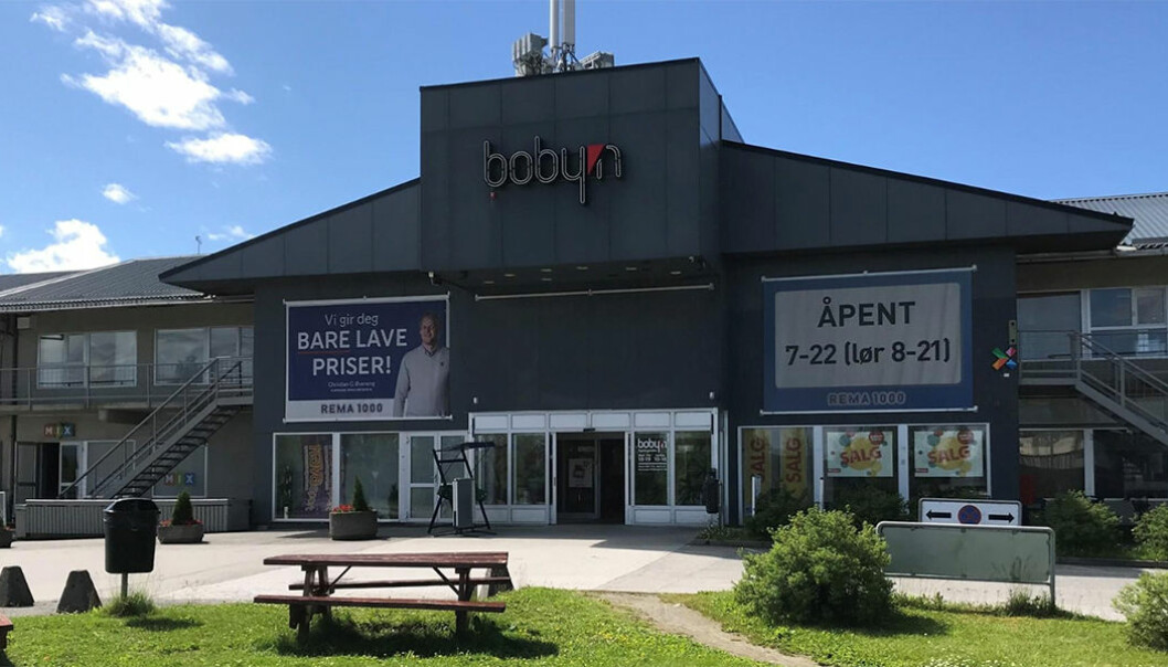 Slik vil Bobyn i Verdal fremstå ferdig ombygget til våren.