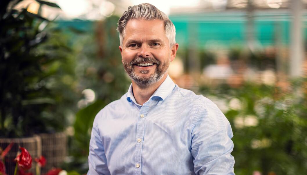 Jørgen Lislerud er ansvarlig for utvikling av det fysiske kundemøtet i Plantasjen.