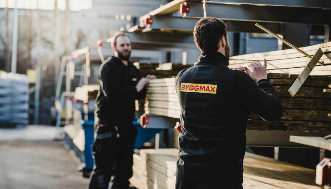 Byggmax opplever medvind med god vekst og tre nye varehus.