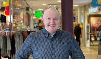 Erik Gjemble ny senterleder på AMFI Steinkjer