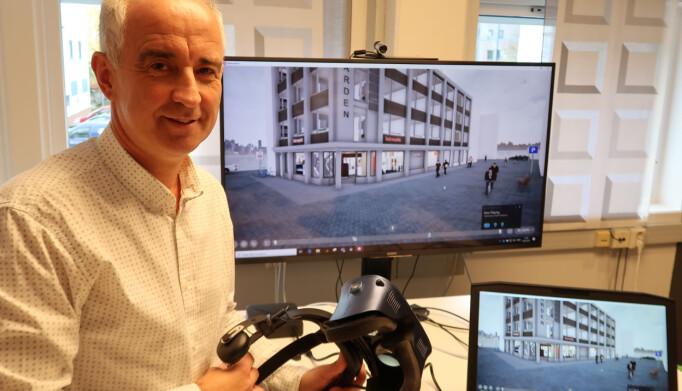 Andreas Stubreiter i Hestra forteller at 3D-visualisering er nyttig og blir stadig mer benyttet
