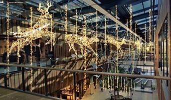 Unik lysdekor på Fornebu S